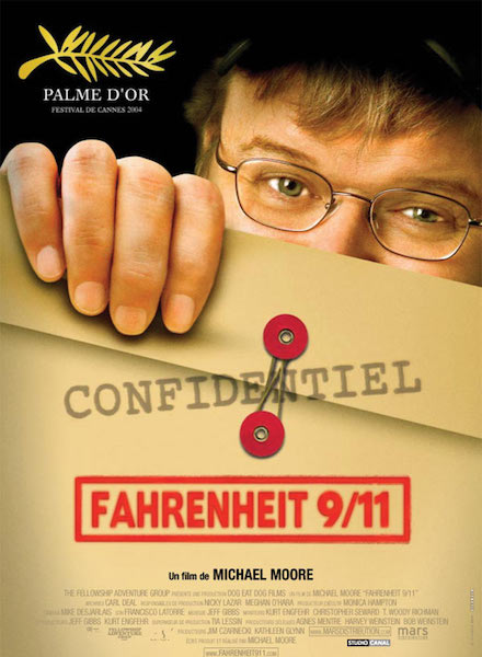 FAHRENHEIT 9:11 Documentaire festival de cannes nde production doublage vf mixage france Paris belgique bruxelles